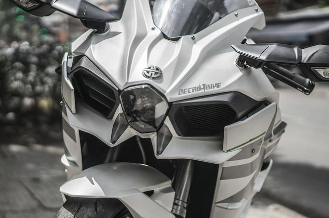 Sieu moto Kawasaki Ninja H2 thay ao moi tai Sai Gon hinh anh 6