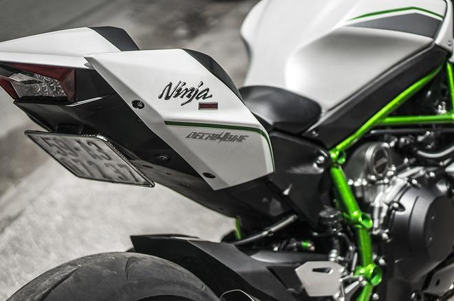 Sieu moto Kawasaki Ninja H2 thay ao moi tai Sai Gon hinh anh 8