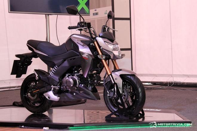 Chi tiet Kawasaki Z125 - Doi thu moi cua Honda MSX hinh anh