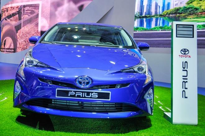 Toyota Prius 2016 Hybrid lan dau den Viet Nam hinh anh