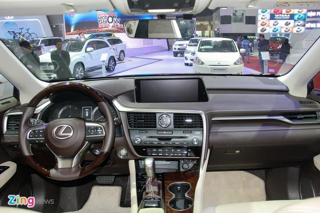 Lexus RX 350 2016 trinh lang tai Viet Nam hinh anh 8