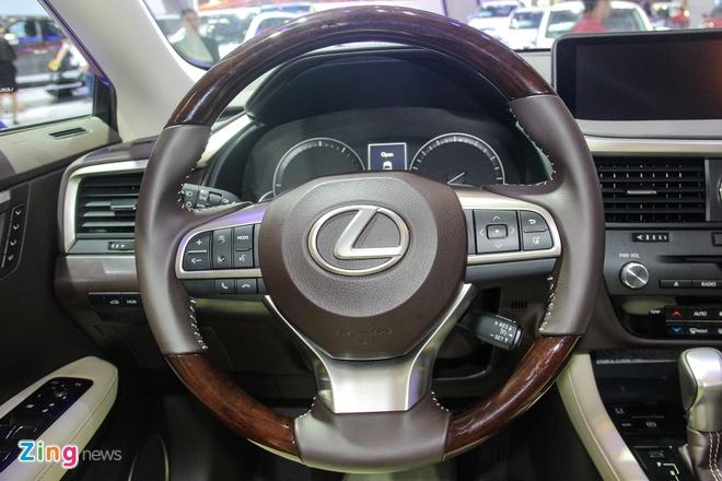 Lexus RX 350 2016 trinh lang tai Viet Nam hinh anh 9 l