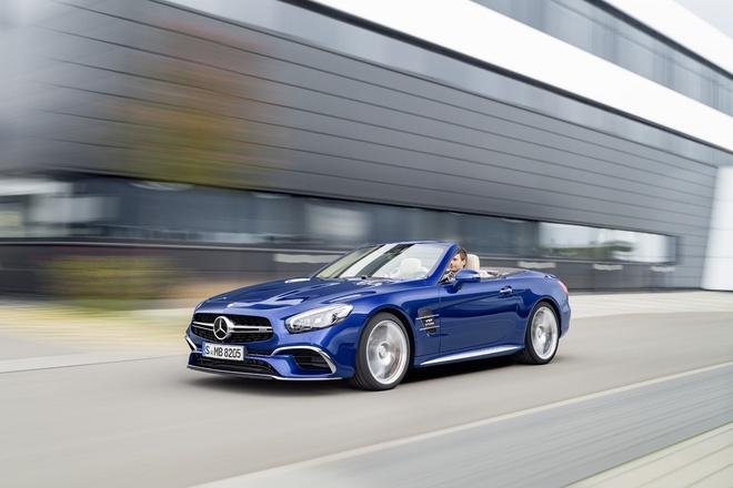 Mercedes-Benz SL 2016 chinh thuc lo dien hinh anh 1