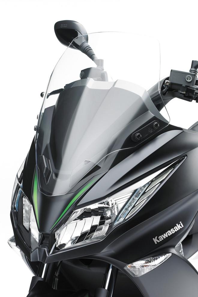 Kawasaki ra mat xe tay ga 125 phan khoi dau tien hinh anh 3