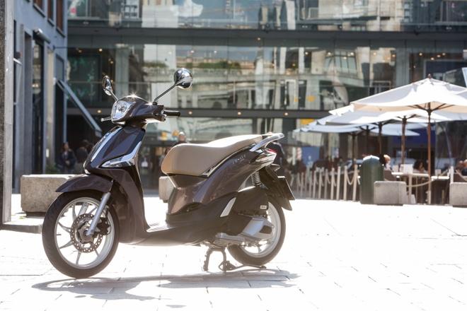 Piaggio mang Liberty ABS den trien lam EICMA 2015 hinh anh 2