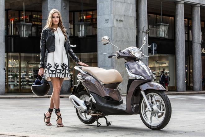 Piaggio mang Liberty ABS den trien lam EICMA 2015 hinh anh
