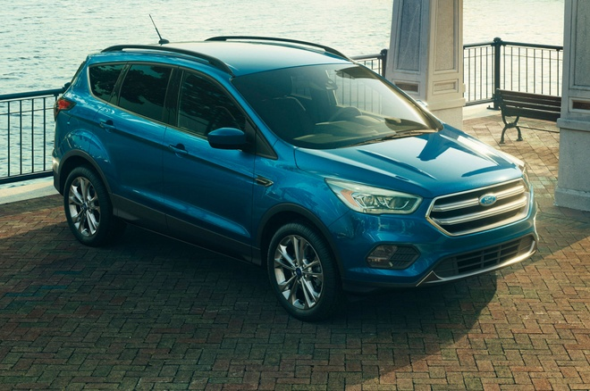 Ford Escape 2017 co thiet ke va dong co moi hinh anh 1