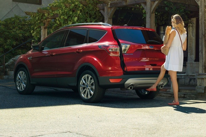 Ford Escape 2017 co thiet ke va dong co moi hinh anh 5