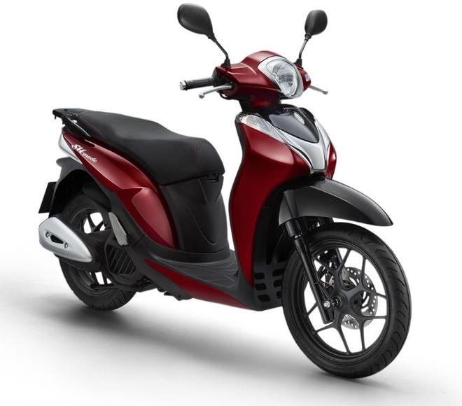 Honda SH mode them phien ban mau moi hinh anh