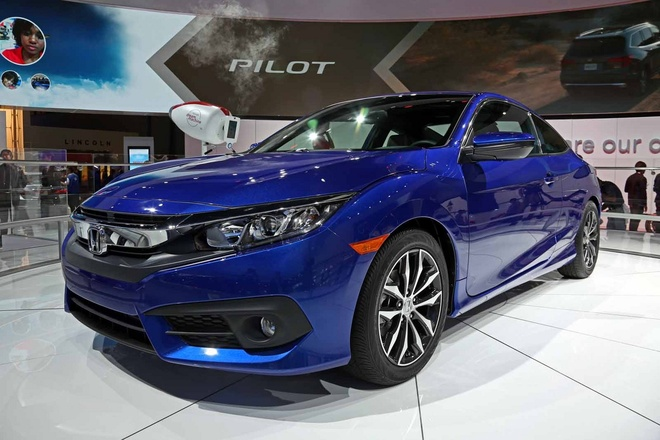 Honda Civic Coupe 2016 chinh thuc lo dien hinh anh
