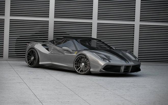 Sieu xe Ferrari 488 GTB do cong suat 735 ma luc hinh anh