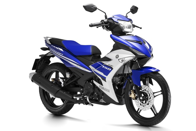 Exciter 150 va loat xe so cua Yamaha thay ao moi hinh anh 1 Thiết kế tem xe mới trên Exciter 150 GP.