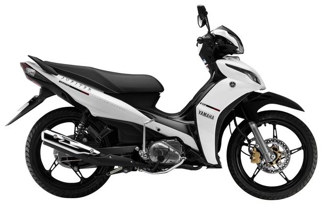 Exciter 150 va loat xe so cua Yamaha thay ao moi hinh anh 2 Jupiter 2016 với thiết kế tem xe mới.