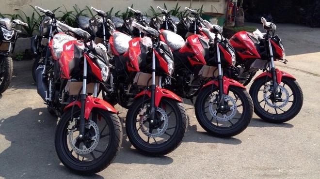 Xe con tay 150 phan khoi Honda CB150R 2016 ve Viet Nam hinh anh