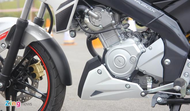 Honda CB150R 2016 so dang voi Yamaha FZ150i hinh anh 20