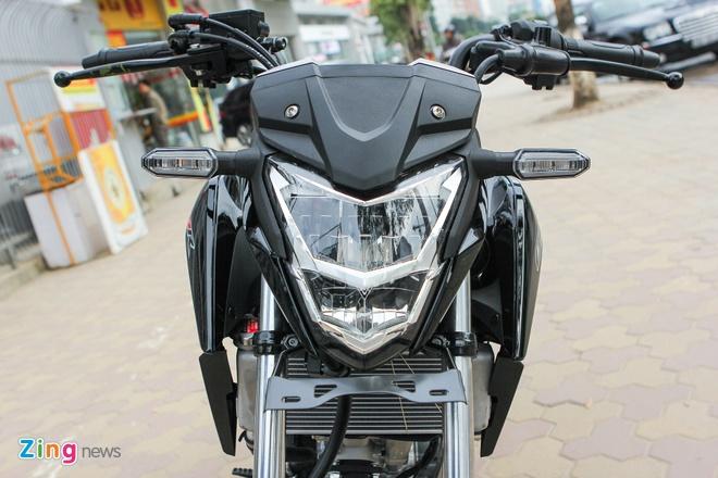 Honda CB150R 2016 so dang voi Yamaha FZ150i hinh anh 5
