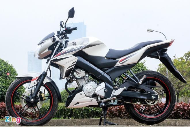 Honda CB150R 2016 so dang voi Yamaha FZ150i hinh anh 4