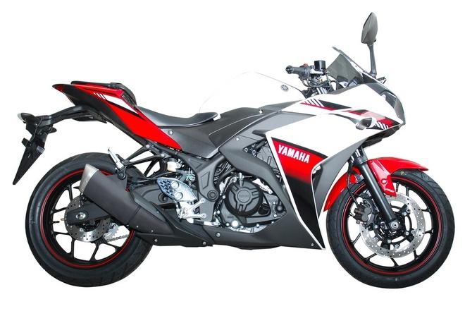 Yamaha thay tem cho YZF-R25 ABS hinh anh 2