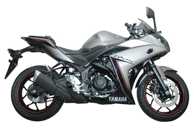 Yamaha thay tem cho YZF-R25 ABS hinh anh
