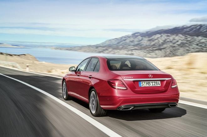 Mercedes-Benz E-Class moi lo anh ro net hinh anh 2