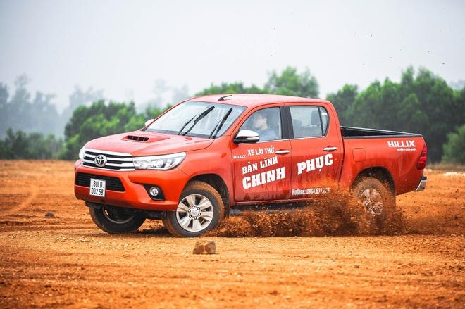 Trai nghiem Toyota Hilux 3.0G AT 2016 o Ha Noi hinh anh