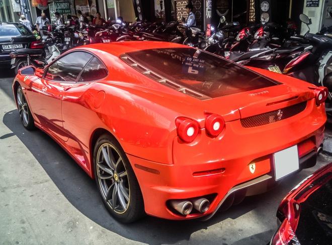 Sieu xe Ferrari F430 xuat hien tren duong pho Sai Gon hinh anh 6