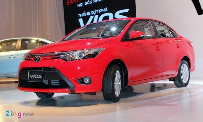 Toyota Viet Nam ban hon 51.000 xe nam 2015 hinh anh 1