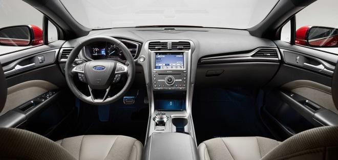 Ford Fusion 2017 - doi thu cua Toyota Camry va Honda Accord hinh anh 6