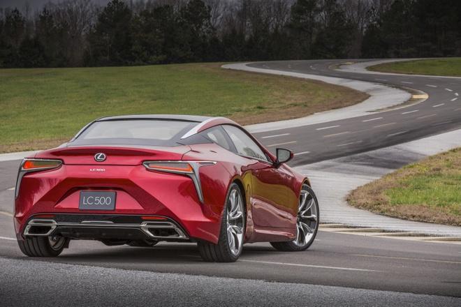 Lexus trinh lang xe the thao 2 cua LC 500 moi hinh anh 5