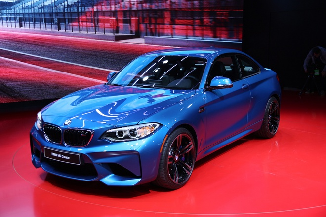 BMW M2 2016 - xe the thao moi tu Duc hinh anh 1