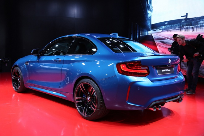 BMW M2 2016 - xe the thao moi tu Duc hinh anh 3