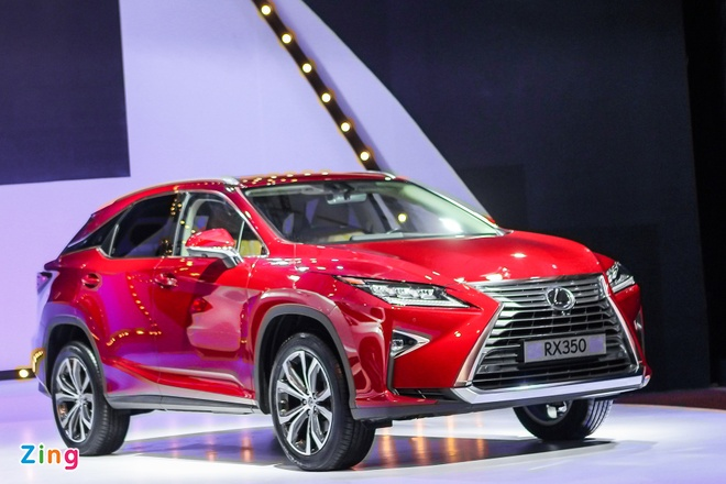Lexus RX350 va RX200t gia hon 3 ty dong ra mat tai VN hinh anh 1