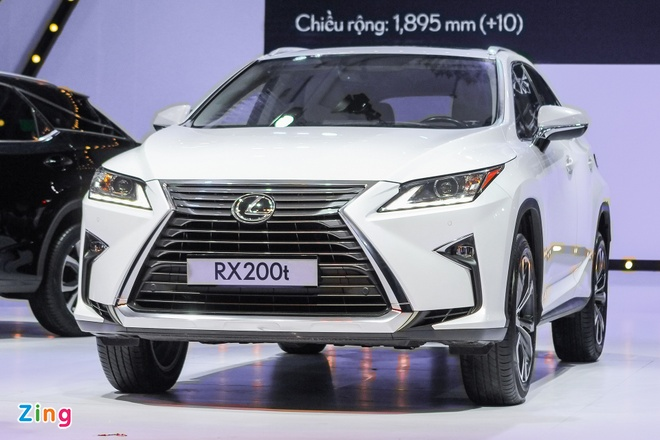 Lexus RX350 va RX200t gia hon 3 ty dong ra mat tai VN hinh anh 2