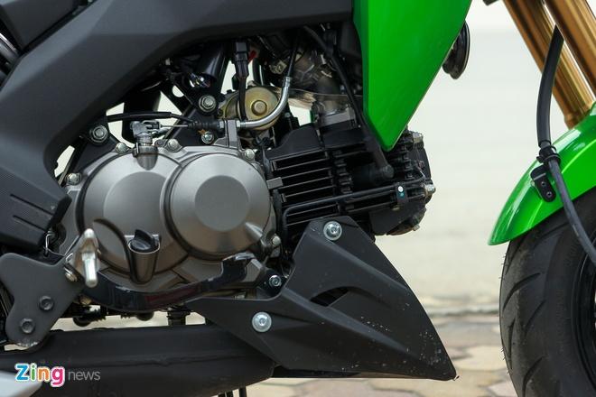 Chi tiet xe con tay Kawasaki Z125 Pro tai Ha Noi hinh anh 10