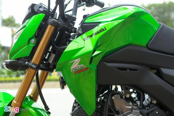 Chi tiet xe con tay Kawasaki Z125 Pro tai Ha Noi hinh anh 9