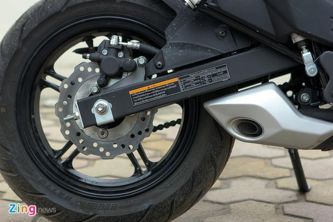 Chi tiet xe con tay Kawasaki Z125 Pro tai Ha Noi hinh anh 8