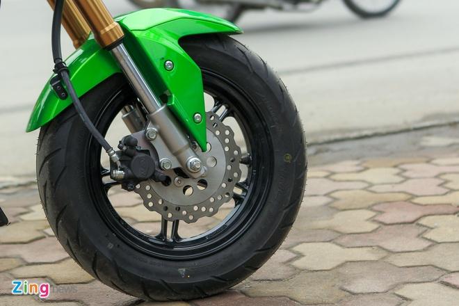 Chi tiet xe con tay Kawasaki Z125 Pro tai Ha Noi hinh anh 7