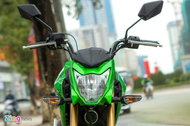 Chi tiet xe con tay Kawasaki Z125 Pro tai Ha Noi hinh anh 4