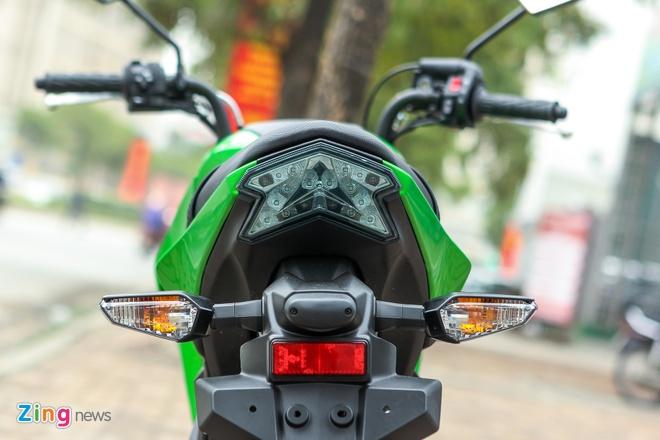 Chi tiet xe con tay Kawasaki Z125 Pro tai Ha Noi hinh anh 5