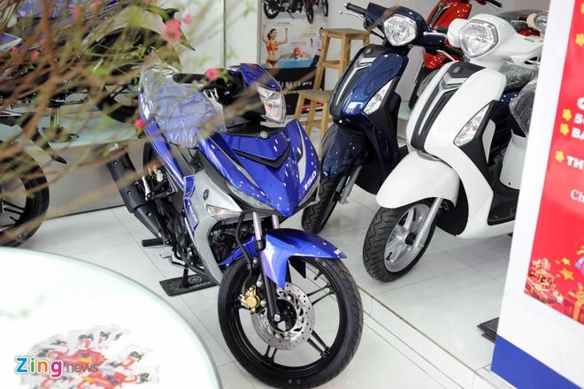 Honda SH, Yamaha Exciter 150 doi gia truoc Tet hinh anh 2