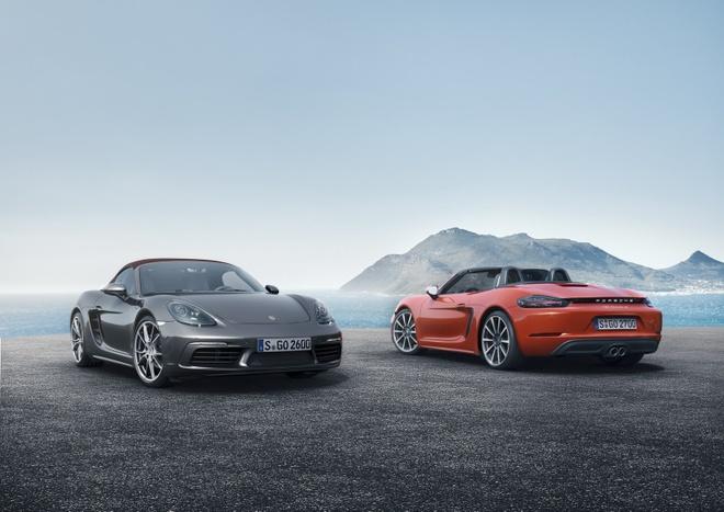 Porsche trinh lang xe mui tran 718 Boxster moi hinh anh 1