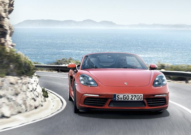 Porsche trinh lang xe mui tran 718 Boxster moi hinh anh 5