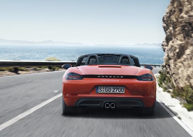 Porsche trinh lang xe mui tran 718 Boxster moi hinh anh 3