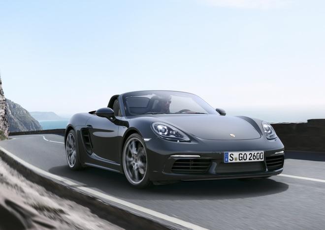Porsche trinh lang xe mui tran 718 Boxster moi hinh anh 4