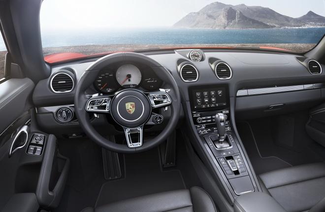 Porsche trinh lang xe mui tran 718 Boxster moi hinh anh 6