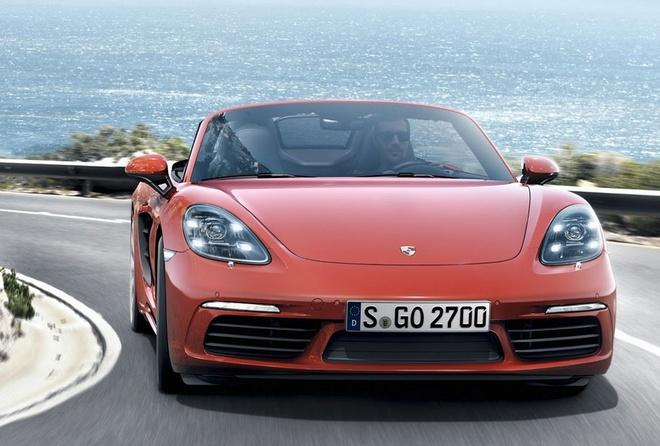 Porsche trinh lang xe mui tran 718 Boxster moi hinh anh
