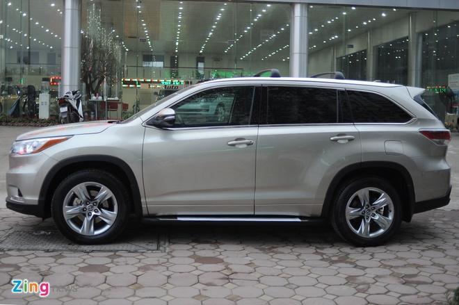 Chi tiet Toyota Highlander 2016 Limited tai Ha Noi hinh anh 4
