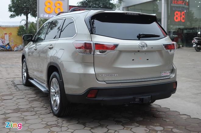 Chi tiet Toyota Highlander 2016 Limited tai Ha Noi hinh anh 5