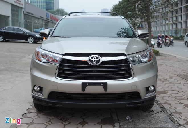 Chi tiet Toyota Highlander 2016 Limited tai Ha Noi hinh anh 2