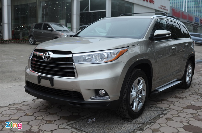Chi tiet Toyota Highlander 2016 Limited tai Ha Noi hinh anh 1